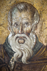IMG_0936a (zavar_vera) Tags: northmacedonia ohrid church peribleptos 13thcentury fresco mural michaelandeutychios