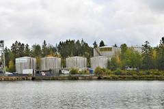 Industrial Landscape Autumn🍁 (Bo Ragnarsson) Tags: industrial industriell trollhättan autumn fall höst landscape