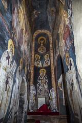 Frescoes of the prothesis (zavar_vera) Tags: northmacedonia ohrid church peribleptos 13thcentury fresco mural michaelandeutychios