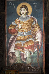 Saint Procopius (zavar_vera) Tags: northmacedonia ohrid church peribleptos 13thcentury fresco mural michaelandeutychios