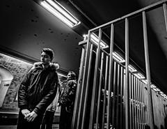 DreamUp.jpg (Klaus Ressmann) Tags: klaus ressmann omd em1 fparis france peopleindoor spring subwaystation blackandwhite candid daydream flcpeop man streetphotography unposed young klausressmann omdem1