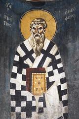 Saint Ignatius of Antioch (zavar_vera) Tags: northmacedonia ohrid church peribleptos 13thcentury fresco mural michaelandeutychios