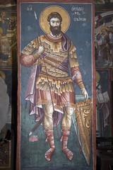 Saint Theodore Tyron (zavar_vera) Tags: northmacedonia ohrid church peribleptos 13thcentury fresco mural michaelandeutychios