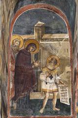 IMG_0845a (zavar_vera) Tags: northmacedonia ohrid church peribleptos 13thcentury fresco mural michaelandeutychios