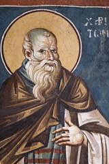 Saint Chariton the Confessor (zavar_vera) Tags: northmacedonia ohrid church peribleptos 13thcentury fresco mural michaelandeutychios