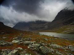 Laddjubahta (dration) Tags: kungsleden lapland sweden landscape clouds mountain