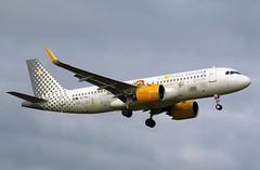 Vueling | A320-200N | EC-NAJ | HAM | 05.10.2019 (Norbert.Schmidt) Tags: ham airbus a320 vueling hamburgairport a320neo ecnaj we💛places