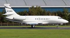 N726DC (PrestwickAirportPhotography) Tags: egpk prestwick airport dassault falcon 2000 n726dc