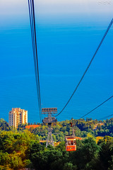 _MG_6275_ (Mikhail Lukyanov) Tags: russia crimea landscape mountains aipetri summer sea sky trees cableway building rope cable hdr