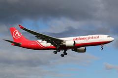 AtlasGlobal | A330-200 | TC-AGD | HAM | 05.10.2019 (Norbert.Schmidt) Tags: tcagd a330 a330200 airbus ham hamburgairport atlasglobal