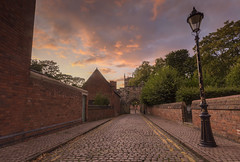 Castle View Sunset (John__Hull) Tags: castle view leicester uk england mary de castro church sunset clouds sky nikon d7200 sigma 1020mm