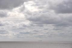 Study in grey (Kirkleyjohn) Tags: sea seascape clouds lowestoft pakefield northsea