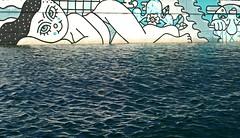 Il dolce farniente (alfonsocarlospalencia) Tags: il dolce farniente lo dulce de no hacer nada somo cantabria santander felicidad paz ilusión coqueta pintada textura azul relajo baño blanco monocromo octubre otoño ojos siesta dulzura rotunda