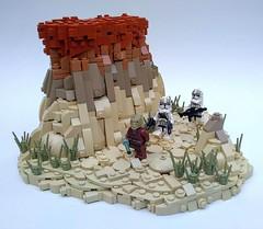 Purging the Jedi (Jonathan_S.) Tags: lego legostarwars legostarwarsmoc legoclonewars legomoc legoclone legojedi legocanyon legoterrain landscape terrain legolandscape moc starwars clonewars jedipurge legodarktimes darktimes
