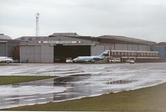 70-ADC (IndiaEcho) Tags: airport aircraft aviation aeroplane civil airfield bedfordshire bae luton hs 125 7oadc ltn eggw
