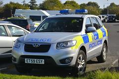 ET59 ESY (S11 AUN) Tags: lincolnshire police hyundai santafe rural crime team wildlife officer 4x4 anpr incident response vehicle panda patrol car countryside policing 999 emergency et59esy