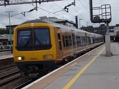 West Midlands Railway Class 323 323216 (Alex S. Transport Photography) Tags: train railway rail outdoor vehicle northampton westmidlandsrailway wmr class323 emu 323216 566z