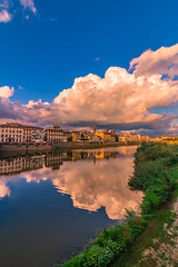 Florence (Vagelis Pikoulas) Tags: rain ref reflection florence firenze italy europe travel holidays holiday tokina 1628mm landscape city cityscape canon 6d view autumn september 2019