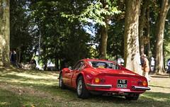Ferrari Dino 246 GT (vapi photographie) Tags: ferrari chantilly concours elegance castle france car exotic vintage classic red dino 246 gt