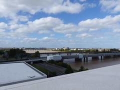Bordeaux, Gironde: depuis la terrasse de la MÉCA (Marie-Hélène Cingal) Tags: france sudouest 33 gironde bordeaux aquitaine nouvelleaquitaine méca nwn clouds nuages