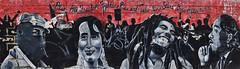 Rise Freedom Fighters (Atelier Teee) Tags: terencefaircloth atelierteee mural streetart chicago illinois bobmarley martinlutherkingjr wickerpark