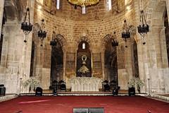Altar iglesia del Monasterio de Veruela (Del Matorral Fotografía) Tags: diegoblancoaraujo delmatorral delmatorralfotografia d7200 nikon aragon arquitectura iglesia altar verademoncayo zaragoza españa europa cister monasterio