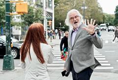 five (susanjanegolding) Tags: beard tweed streetcorner whitehair urban newyorkcity newyorkers bodylanguage handgesture five manhattanvalley west97thstreet bloomingdaledistrict manhattan upperwestside