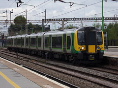 London Northwestern Class 350 350246 (Alex S. Transport Photography) Tags: train railway rail outdoor vehicle northampton londonnorthwesternrailway lnr class350 desiro siemens 350246 9w14 emu
