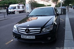 Mercedes-Benz C-Klasse - Morocco, Rabat (Helvetics_VS) Tags: licenseplate morocco rabat