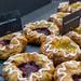 Rasperry Crown und Vanilla Creme Crown: Plunder mit Himbeeren und Vanillepudding