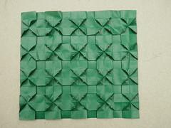 Tessellation (ISO_rigami) Tags: origami tessellation