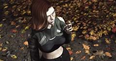 My Favourite Season (Elise~Mersereau) Tags: amias sl secondlife anthem red fall autumn portrait