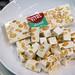 Vital almond sparkle: Nougatriegel mit Mandeln und Pistazie