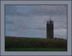 October (novice09) Tags: painterly cornfield silo wisconsin textures