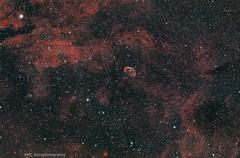 NGC 6888 Crescent nebula (sparkdawg068) Tags: nebula texas space zwo night sky redcat