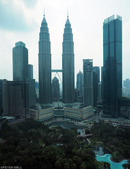 From The Traders Hotel (peterphotographic) Tags: p8041178edwm olympus em5mk2 microfourthirds mft ©peterhall kl kualalumpur malaysia seasia asia fromthetradershotel tradershotel petronas petronastowers twintowers tower skyscraper modernarchitecture architecture building city cityscape urban aerial view high