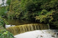 Weir on River Goyt, Marple, Cheshire (HighPeak92) Tags: weirs rivers rivergoyt marple cheshire canonpowershotsx200is