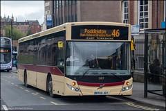 East Yorkshire BT65JGY (Mike McNiven) Tags: goahead goaheadgroup gonortheast eastyorkshire mcv evolution york citywalls pocklington