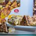 Mandelu Sokolades von Laci: Dreieckskekse mit Mandelschokolade aus Lettland