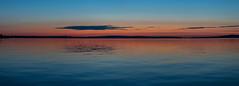 Панорама Онежского озера в Петрозаводске