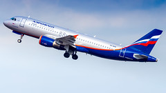 Airbus A320-214 VQ-BHN Aeroflot - Russian Airlines (William Musculus) Tags: london heathrow airport aviation plane airplane lhr egll spotting william musculus vqbhn aeroflot russian airlines airbus a320214 su afl a320200