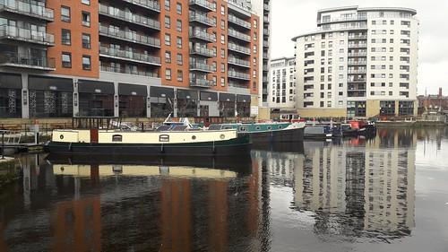 Leeds Dock ( formerly Clarence Dock ) Leeds Yorkshire