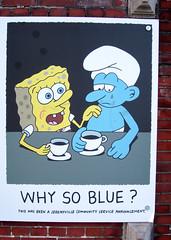 he's got it (PTR) Tags: belgium hasselt streetstuff streetart words smurfs spongebob jeremyvillecommunityserviceannouncements canon ptr