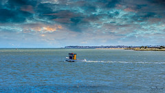 We are Sailing (Tony.Brasier) Tags: boat sea sky land england water nikond7200 sigma lovely lights cold seagull flickr fun faversham fantastic fishing