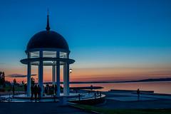 Вечер на набережной Петрозаводска