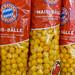 Snacks für den Fußballabend: FC Bayern München Mais-Bälle mit Paprikageschmack
