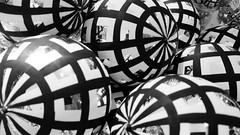 20181013_140539 [ps] - Death Star of Wonder (Anyhoo) Tags: anyhoo photobyanyhoo london england uk johnlewis shop display product sales christmas decorations bauble baubles shiny reflection round balls repetition