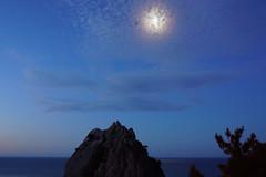 Morning moon Crimea, Russia. Mount Cat. (alexinspire2) Tags: утро луна крым россия гора кошка morning moon crimea russia