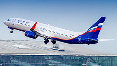 Boeing 737-8LJ(WL) VP-BON Aeroflot - Russian Airlines (William Musculus) Tags: london heathrow airport aviation plane airplane lhr egll spotting william musculus vpbon aeroflot russian airlines boeing 7378ljwl su afl 737800