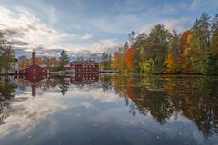 Strömfors Iron Mill (Jyrki Salmi) Tags: jyrki salmi strömfors ruotsinpyhtää ruukki finland reflections autumn day